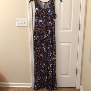 LLR Dani tank maxi dress